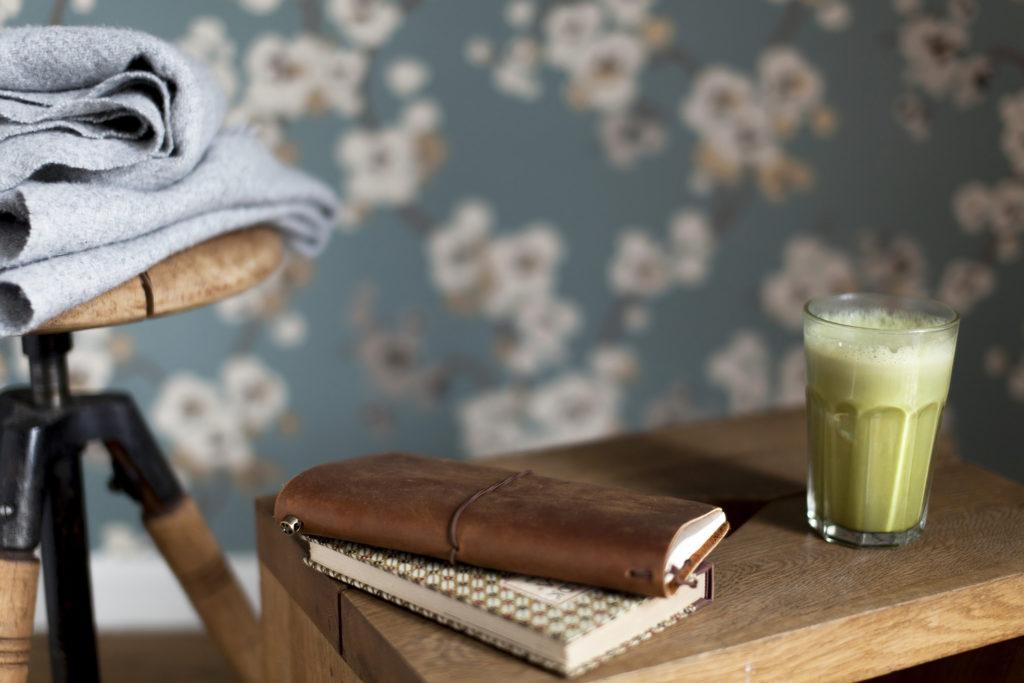 Matcha banan smoothie