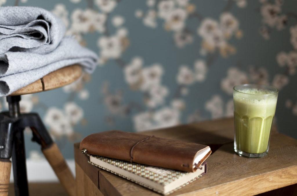 Matcha banana smoothie