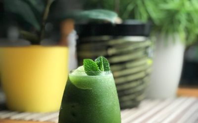 "Koktajl ""The Perfect Matcha"" jak Mojito"