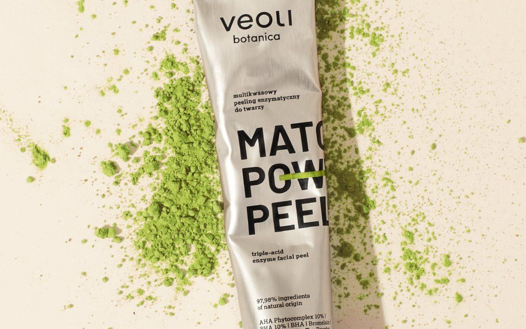 Matcha Power Peel – pierwszy kosmetyk z Moya Matcha w składzie
